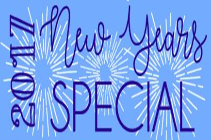 2017 New Years SPECIAL!